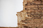 フレーク状の壁 — ストック写真