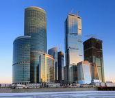 Moscow Business Center — Stock Photo
