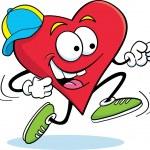 Running Heart — Stock Vector #11182228