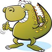Tyrannosaurus Rex — Stock Vector