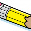 Cartoon Pencil — Stock Vector #11249256
