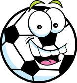 Cartoon Soccer Ball — Stockvektor