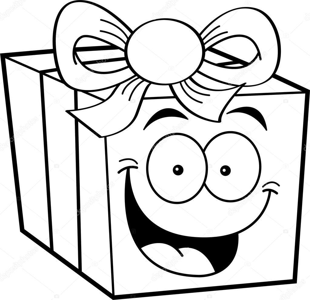 karikatur geschenk stockvektor kenbenner 11564353. Black Bedroom Furniture Sets. Home Design Ideas