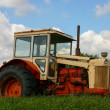 Broken Down tractor in field. — Stock Photo #11080736