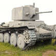 The old German tank PzKpfw 38(t) — Stock Photo