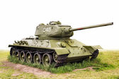 Legendary T-34 (85) Tank USSR — Stock Photo