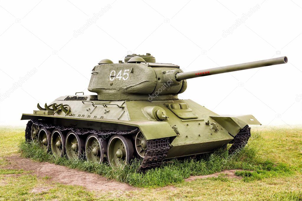 Картинка Т34 Танки T3485 Рисованные Армия