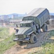 Stock Photo: Russimilitary truck