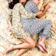 The sleeping couple — Stock Photo
