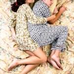The sleeping couple — Stock Photo