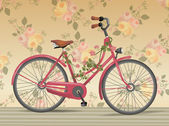 Vintage bike — Stock Vector