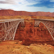Stock Photo: Navajo Bridge Marble Canyon