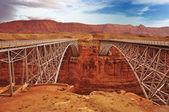 Garganta de mármore ponte navajo — Fotografia Stock