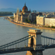Budapest skyline — Stock Photo