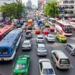 Traffic jam in Bangkok — Stock Photo #11078903