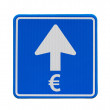 The Euro is heading only one direction: up — Stock Photo
