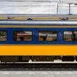 Dutch first class train car — Stock Photo