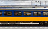 Dutch first class train car — Stock Photo