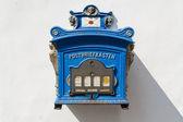 旧德国公共邮箱 — 图库照片