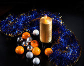 Newyear decorations — Stock Photo