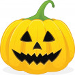 Halloween jackolanten — Stock Photo