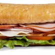 Stock Photo: Macro submarine sandwich