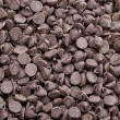 Heap of chocolate chips — Stock Photo