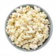 Overhead shot of a bowl with popcorn — Stock Photo #11374329