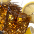 Stock Photo: Lemon ice tea