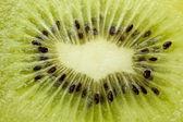 Imagen macro de kiwi — Foto de Stock