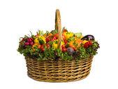 Side of vegetable basket — ストック写真