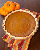 Pumpkin pie — Stockfoto