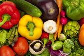 Crisp Summer Vegetables — Stock Photo