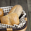 Assorted bread in basket — Stock Photo #12195155