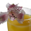 Stock Photo: Mango cocktail drink
