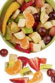 Bucket full of fruits — Stock Photo