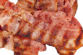 Fried crispy bacon — Stock Photo