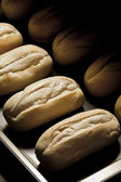 Oven baked bread — Stock Photo