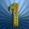 seo search engine optimization — Stock Photo