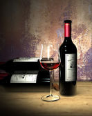 Red wine grand cru — Stock Photo