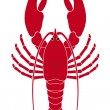 Royalty-Free Stock Vector Image: Lobster