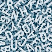 Buchstaben konfus — Stock Photo