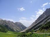 Hahntennjoch mountain pass — Stock Photo