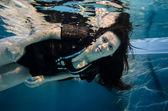 Wellnessview under water — Stock Photo