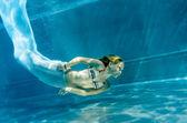 Fun diving — Stock Photo