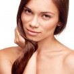 Pretty girl with beautiful hair — Stock Photo