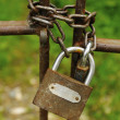 Stock Photo: Lock and chain