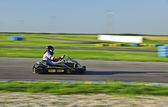 Carting racer — Stock Photo