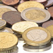 Euro coins from Europe - Stock Photo