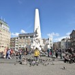 Stock Photo: Monument on Dam in Amsterdam Netherlands